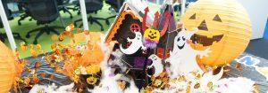ペンシルオフィスが今年もハロウィンの装飾でにぎやかに・ハロウィン2013