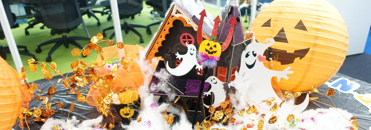 【ペンシルオフィス】ハロウィン2015★今年もハロウィンの装飾でにぎやかになりました!