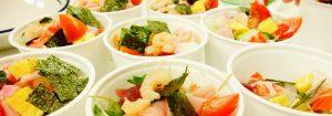 春の訪れを知らせるちらし寿司 〜彩豊か PECCHINの海鮮ちらしと手まり寿司〜