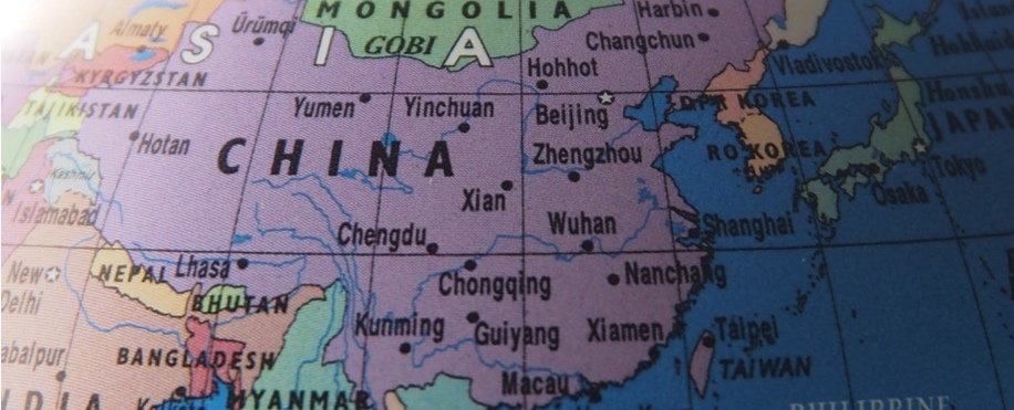 中国台湾の地図