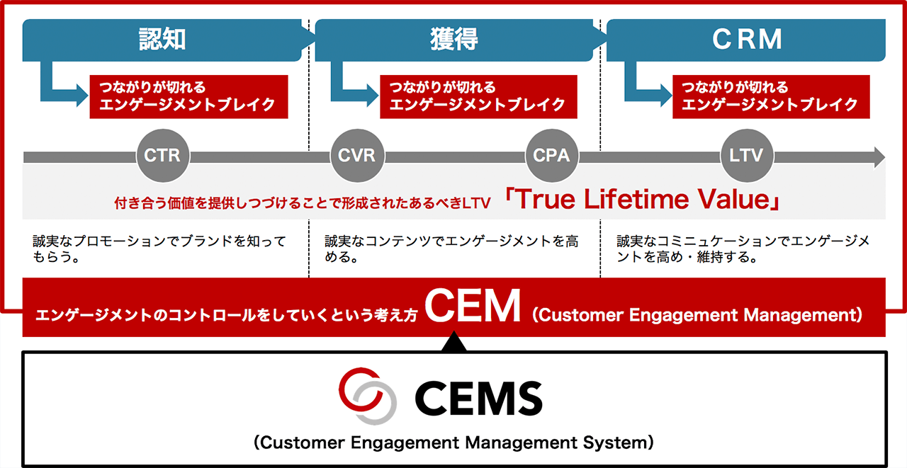 CEM(Customer Engagement Management)とCEMS(Customer Engagement Management System)